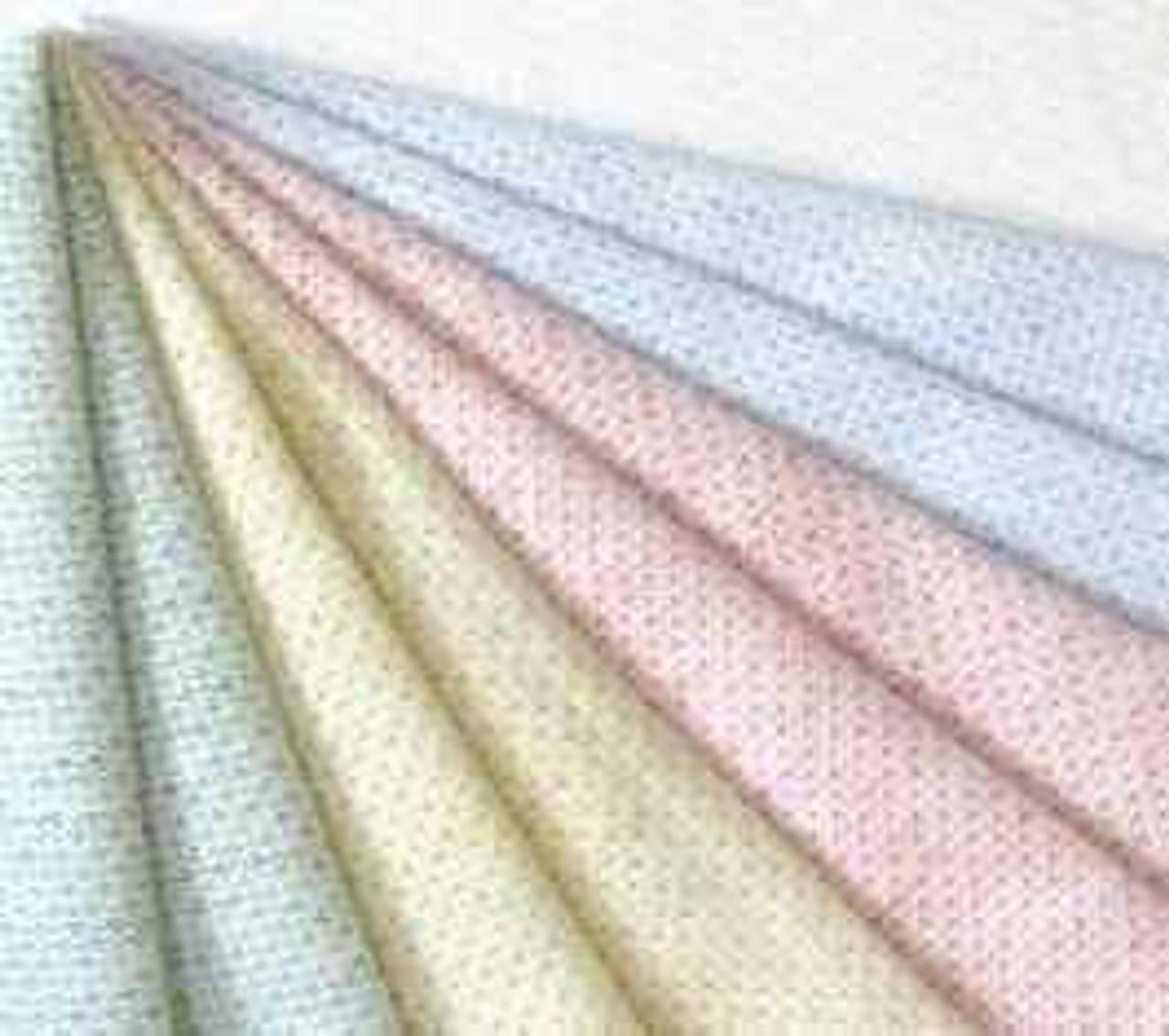 Flat Top Sheet or HealthMesh knit fabric or 53 x 104 or 1 dz