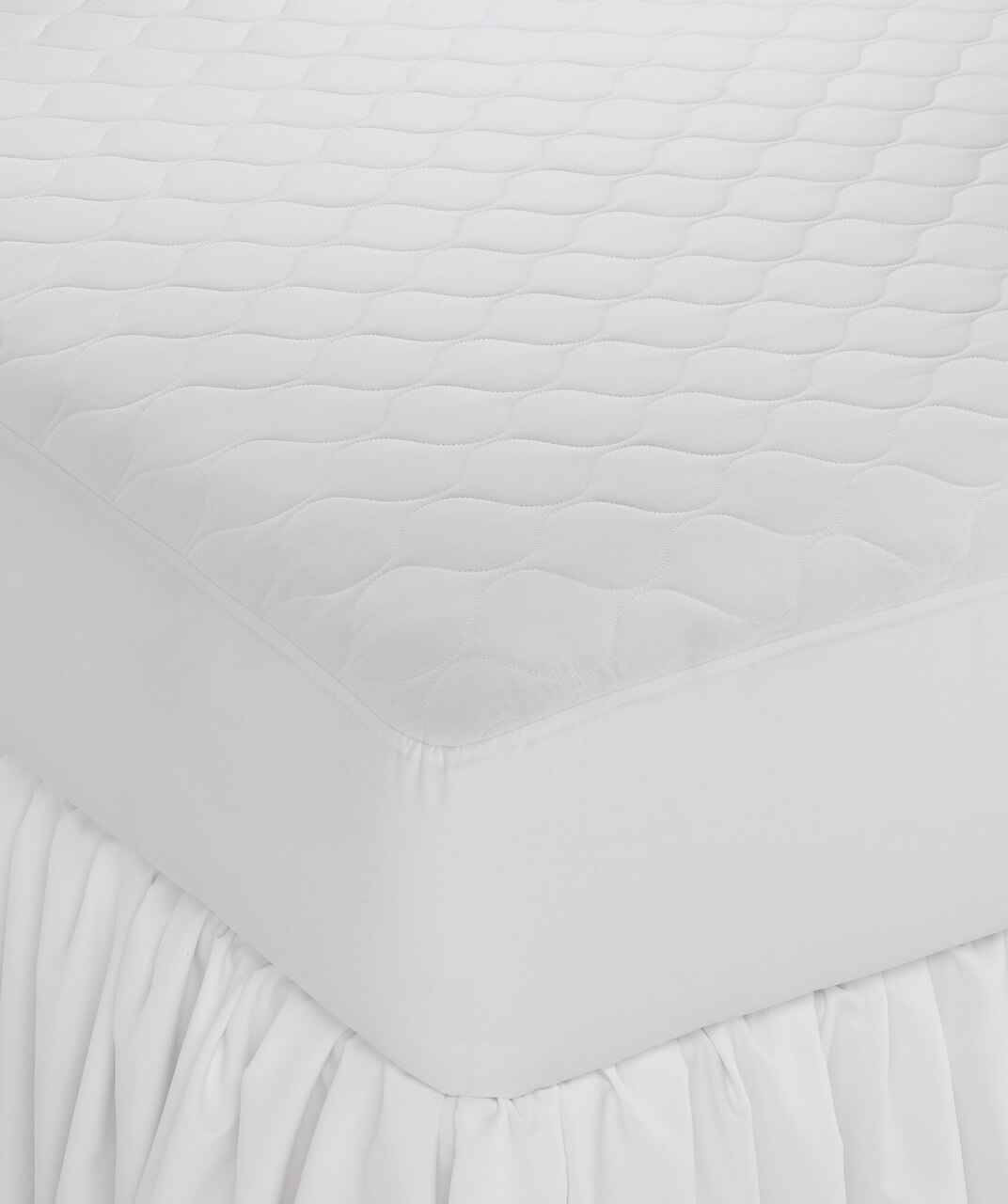 Martex Wovens by WestPoint Hospitality Westpoint or Martex Basics or Deluxe Woven Fitted Mattress Pad