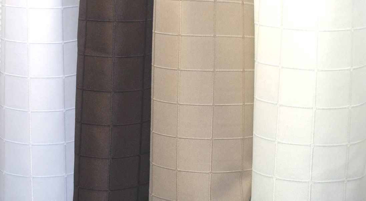 Kartri Kartri or Millennium or Polyester Shower Curtain w/ Sewn Eyelets or Pack of 12