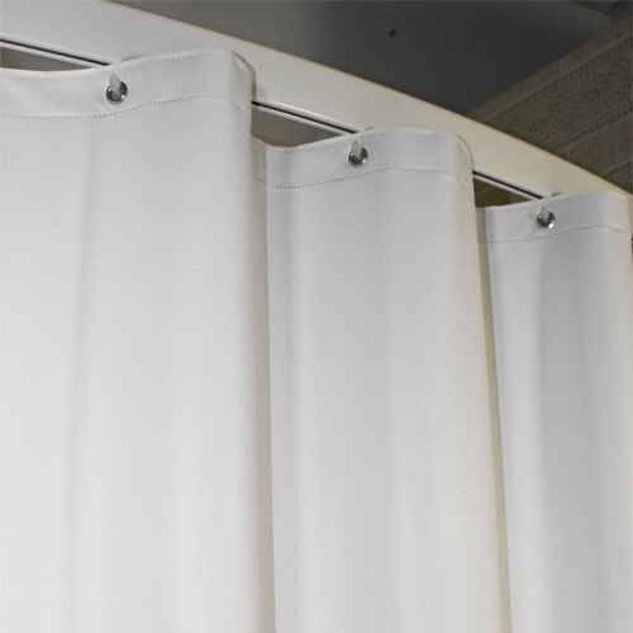 Kartri KARTRIor 10 GAUGE PEBBLESor VINYL SHOWER CURTAIN W/ METAL GROMMETS 72x72 PACK OF 12