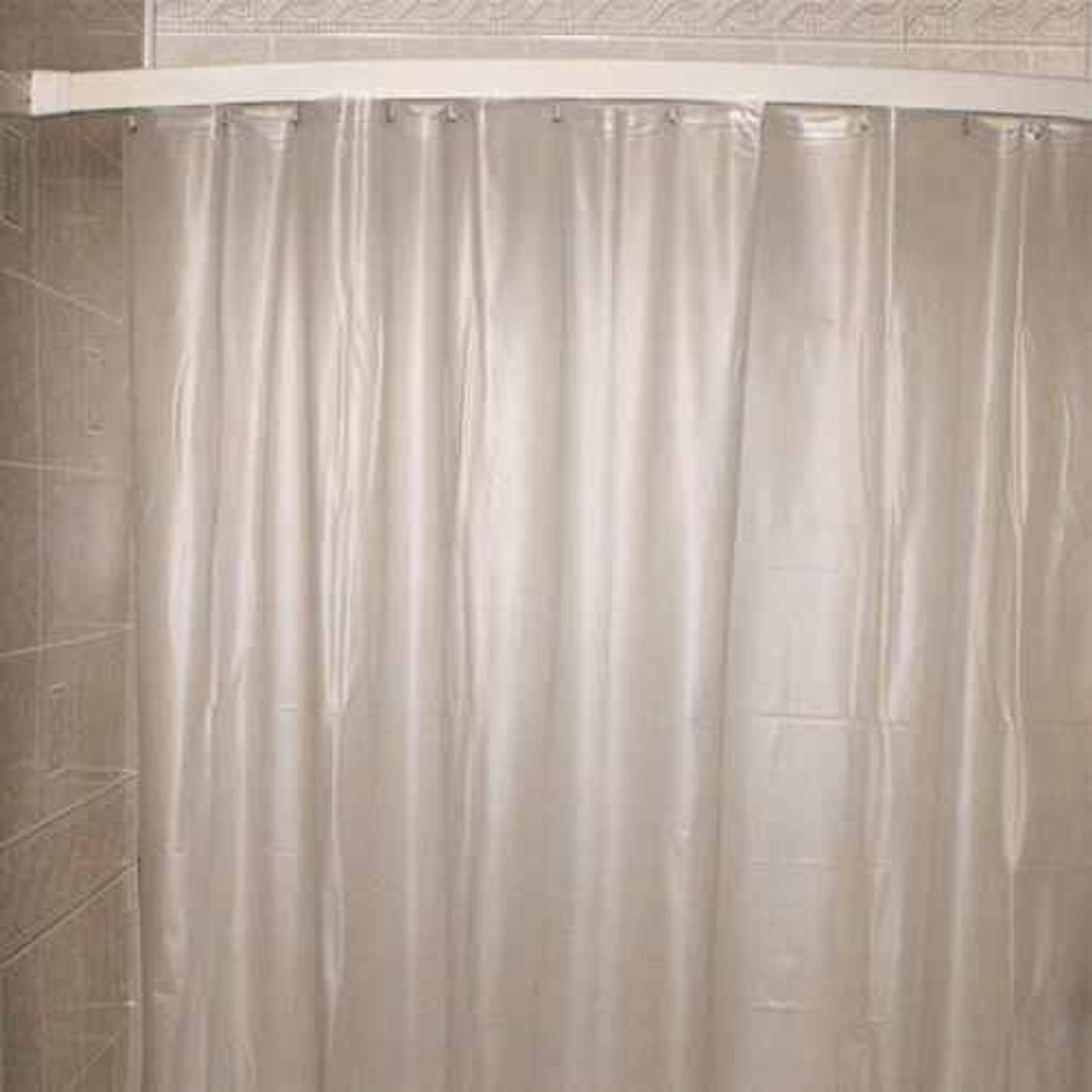 Kartri Kartrior 10 Gauge San Suede Executive Flame Retardantor Vinyl Shower Curtain w/ Metal Grommets pack of 12