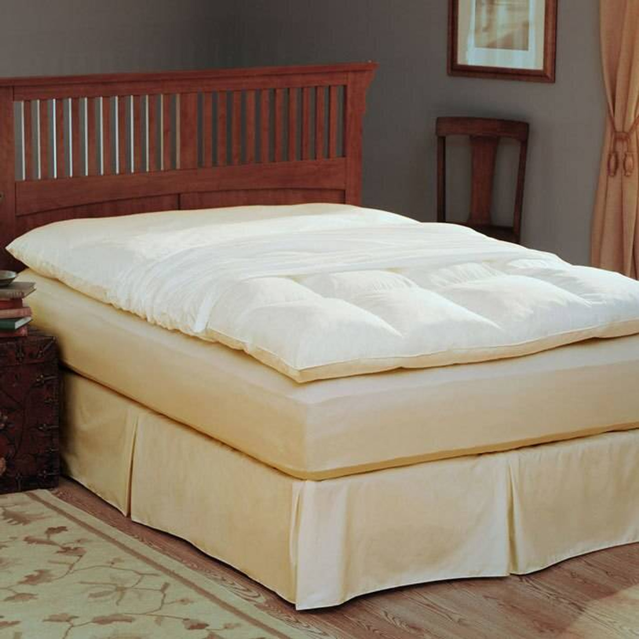 Pacific Coast Feather Co Pacific Coast Natural Filled Feather or Bed Protective Cover