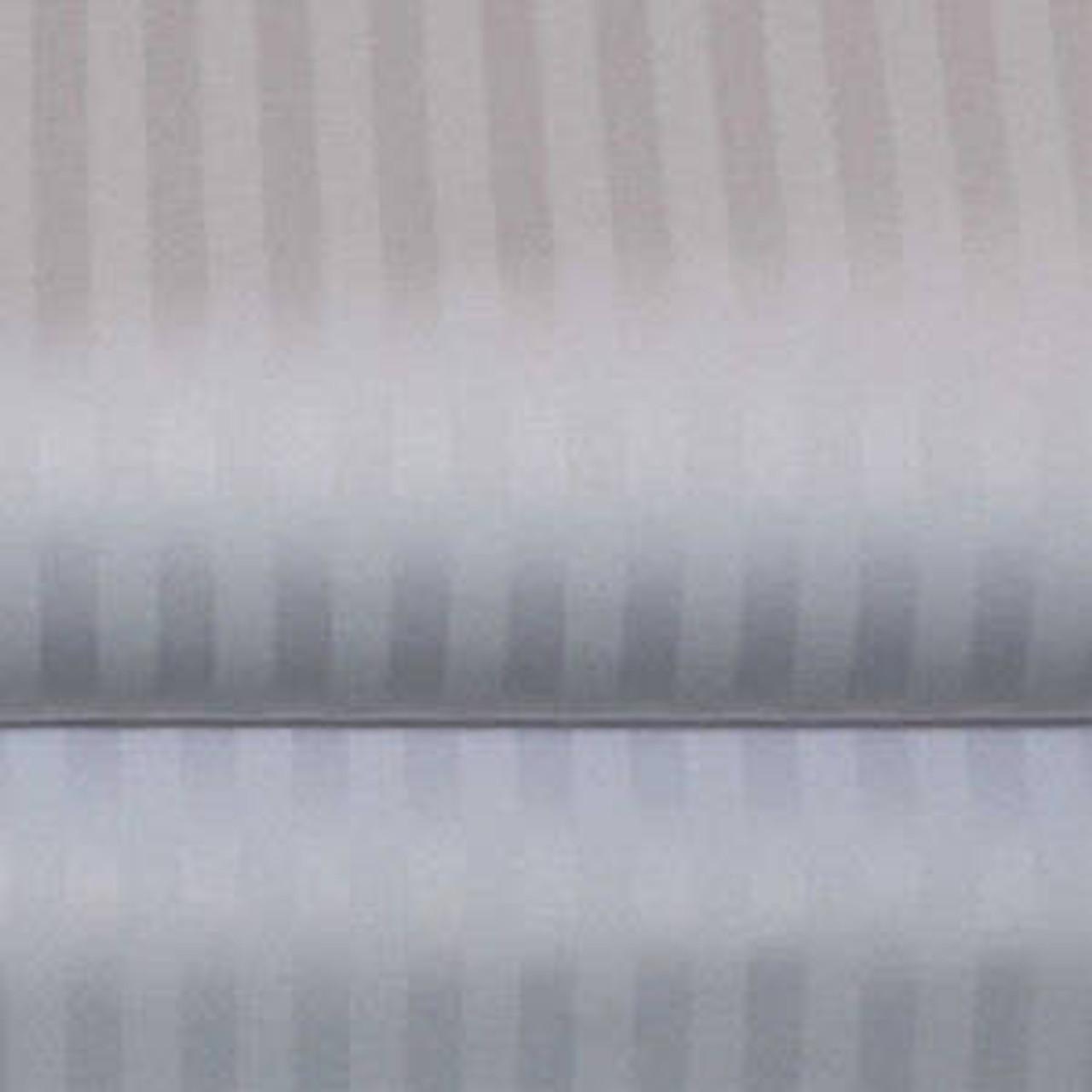 THOMASTON MILLS THOMASTON MILLS orT-310 TONE ON TONE STRIPE DUVET COVER or WHITE or PACK OF 12