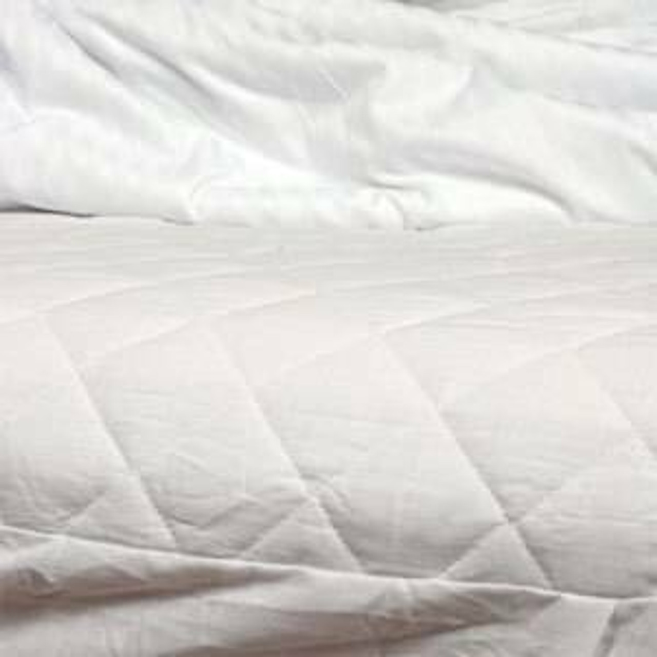 Ganesh Mills or Oxford Super Blend Ganesh Mills or Quilted Fitted Mattress Pad or pack of 12