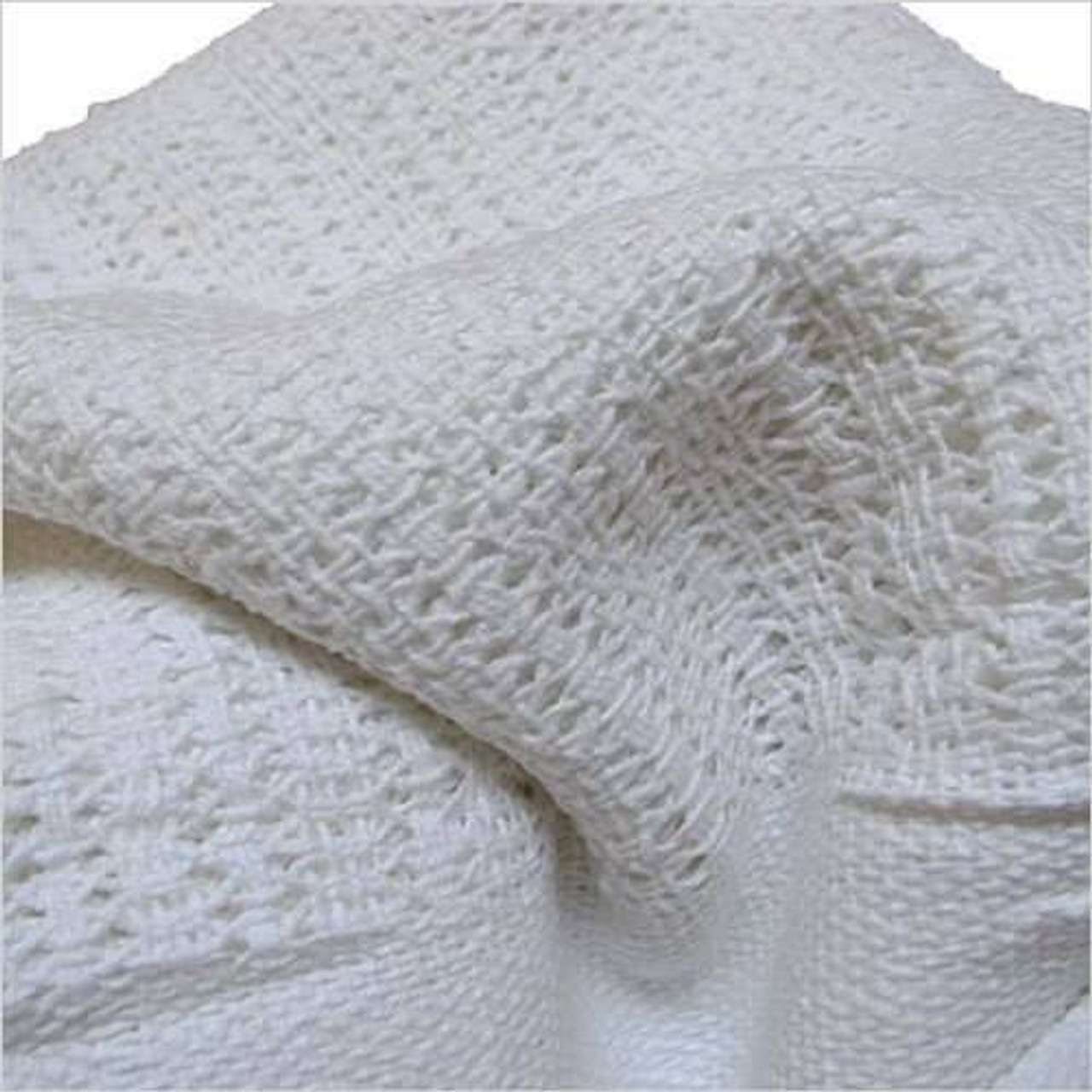 Ganesh Mills or Oxford Super Blend Ganesh Mills or Hotel Thermal Closed Weave Blanket or 66 x 90 or pack of 50