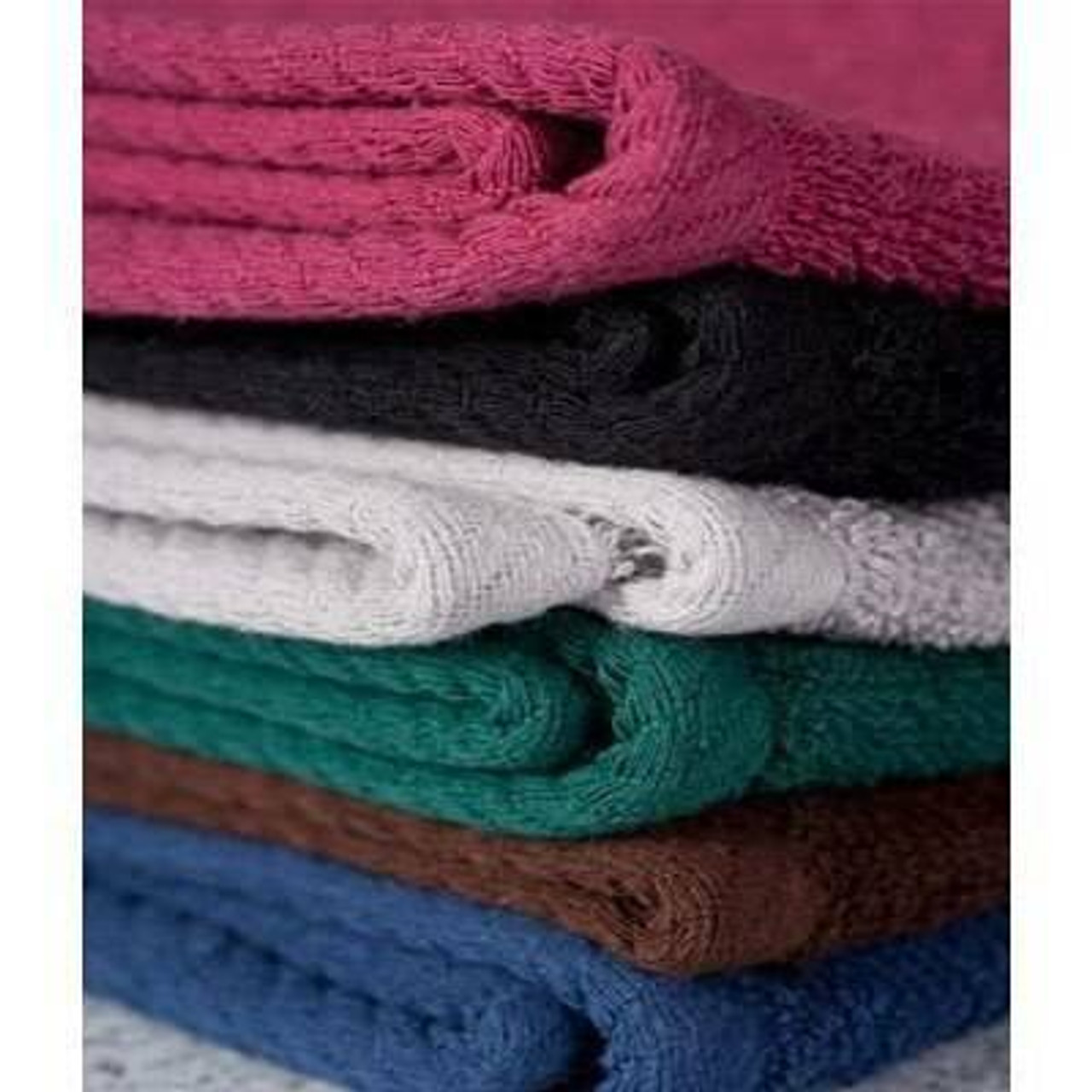 Ganesh Mills or Oxford Super Blend Ganesh Mills or Magic Bleach Proof Spa Salon Hand Towels or Pack of 12 DZ