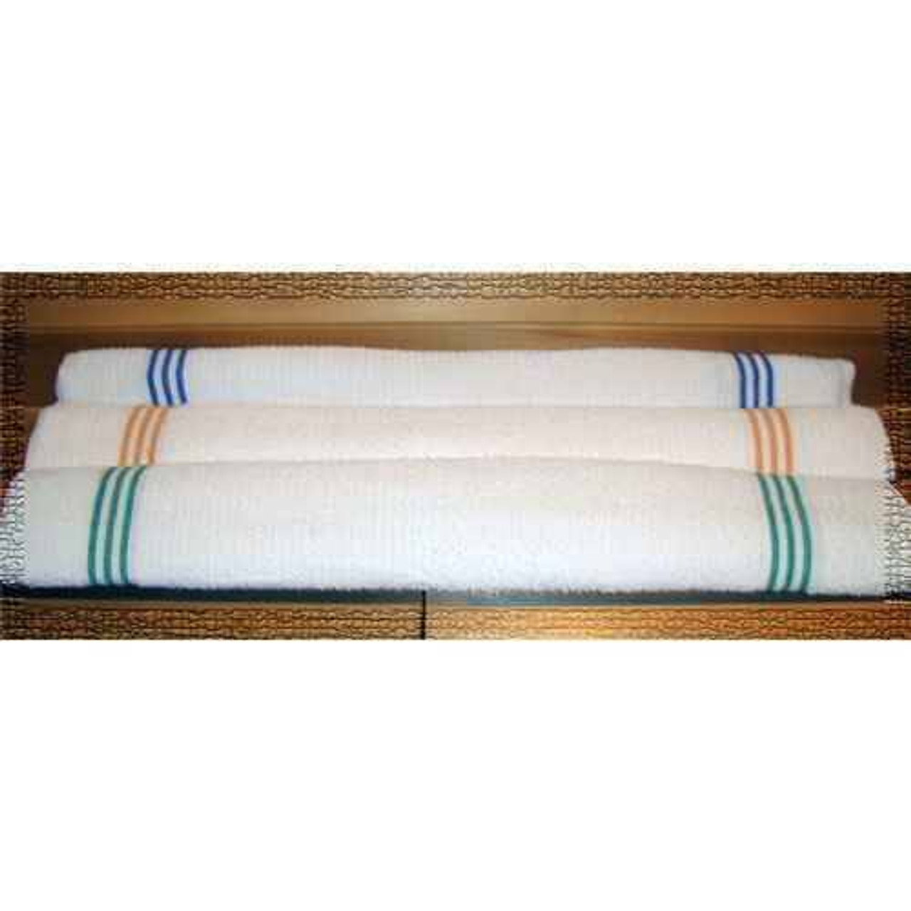 Ganesh Mills or Oxford Super Blend Ganesh Mills or Oxford Ribbed or Three Stripe Pool Towels or Pack of 10 DZ