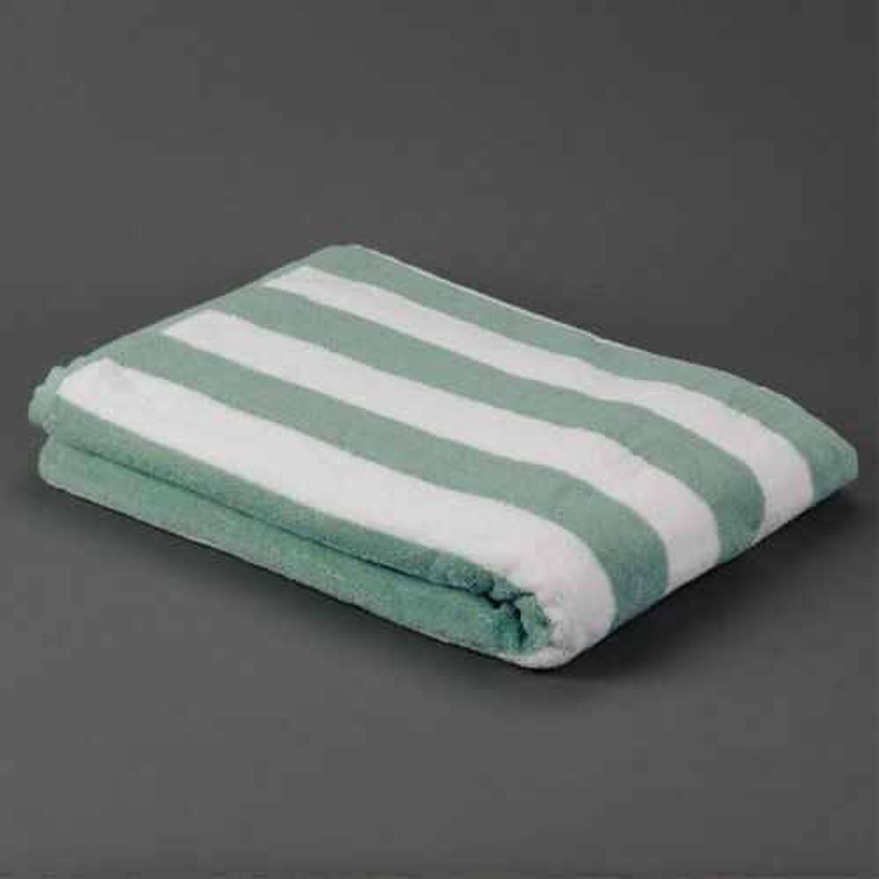 Ganesh Mills or Oxford Super Blend Ganesh Mills or Oxford Cabana 2X2 Stripe Pool Towels or Pack of 1 DZ