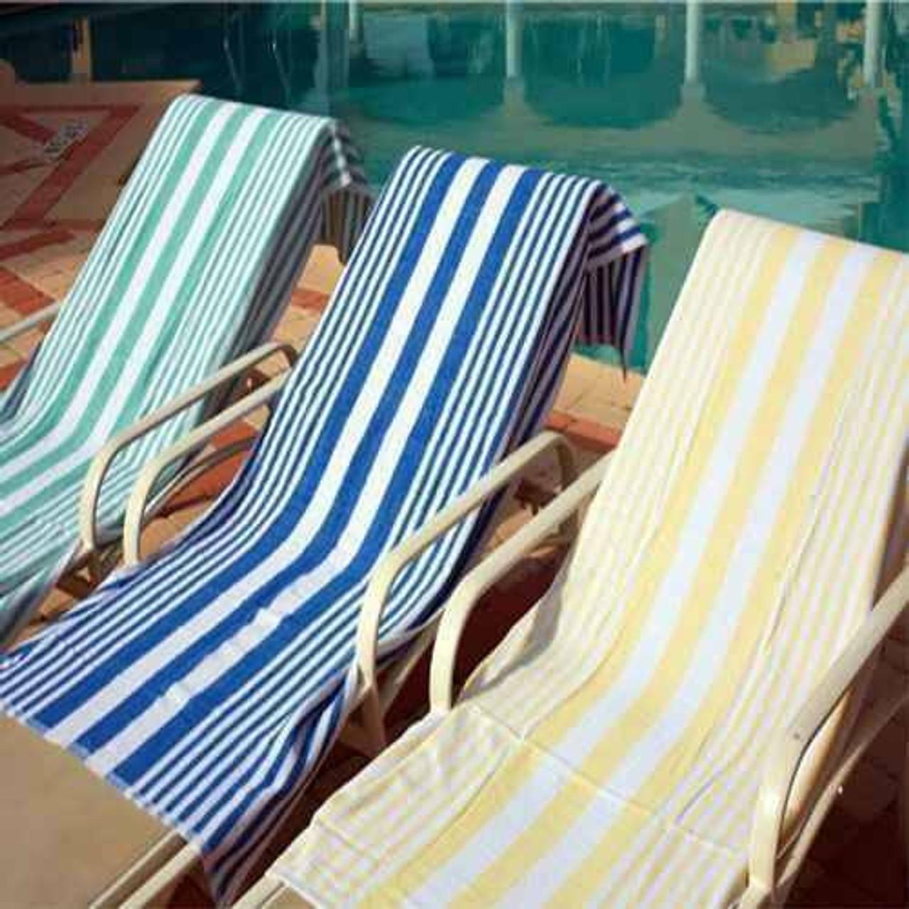 Ganesh Mills or Oxford Super Blend Ganesh Mills or Oxford Tropical Stripe Pool Towels or pack of 5 DZ