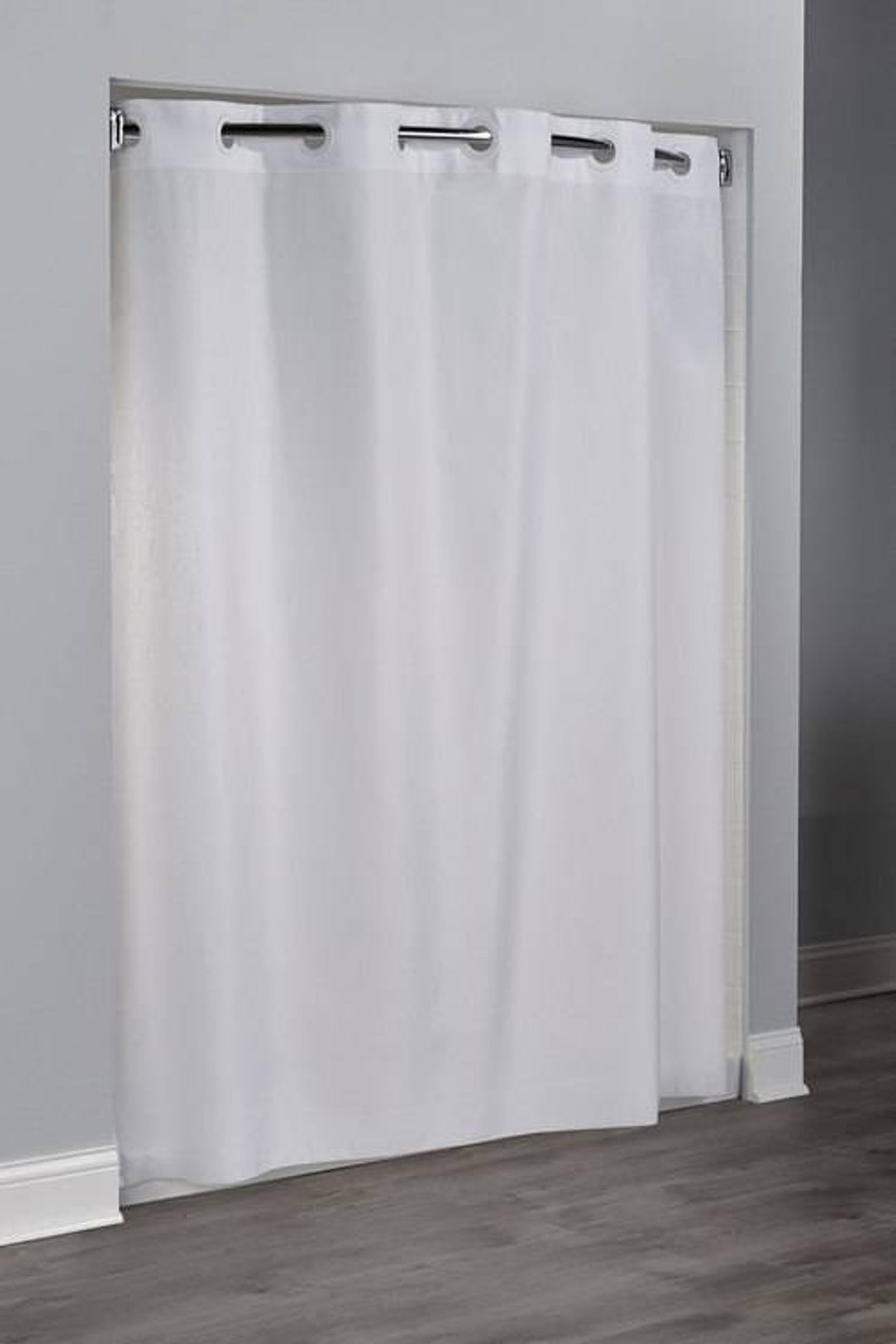 Focus Product Group Moire by Hookless FPG - an Embossed hotel shower curtain