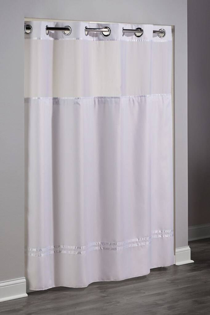 Focus Product Group Hookless Escape Shower Curtain or Pack of 12