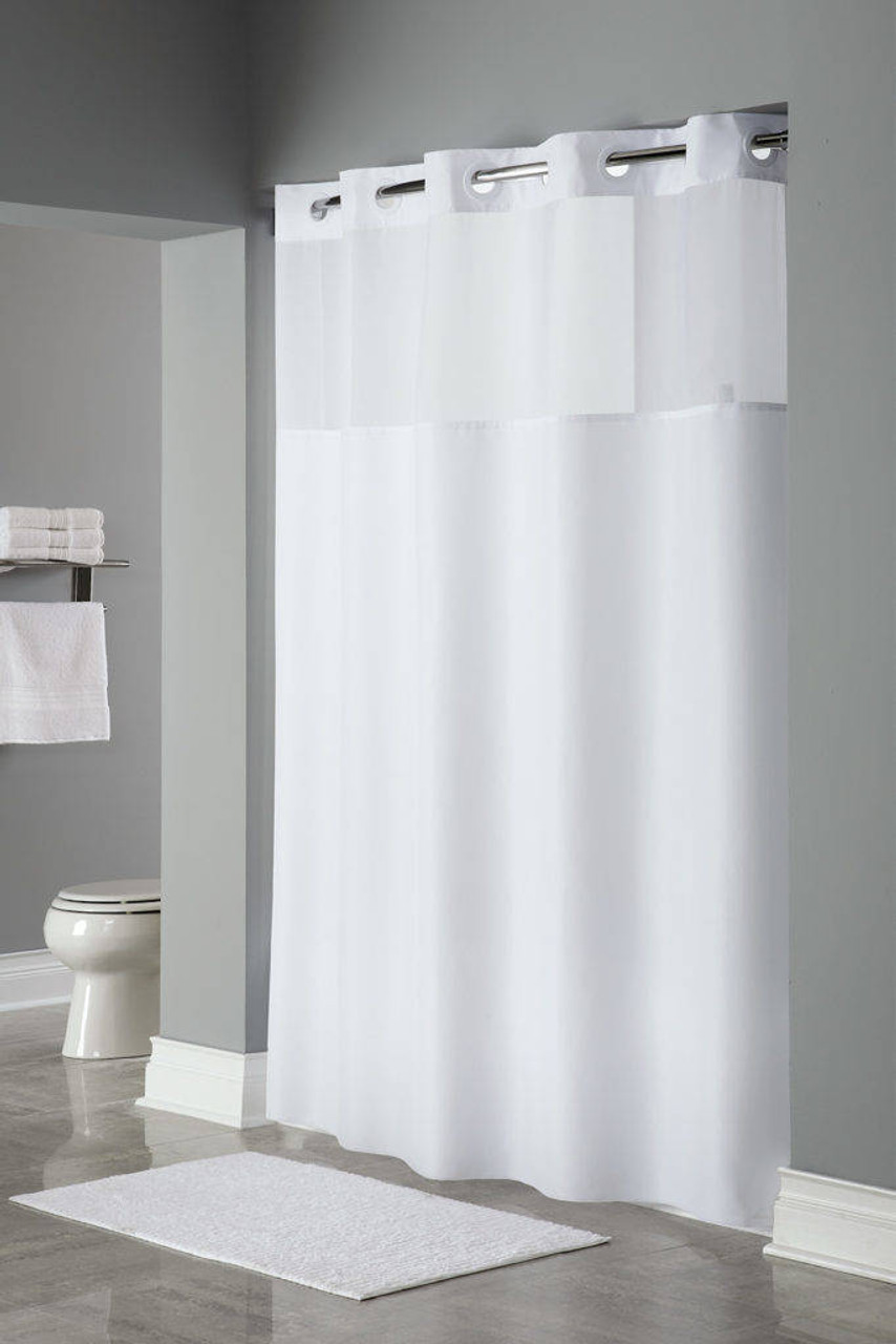Focus Product Group Mystery or Hookless or Polyester or Shower Curtain or Pack of 12