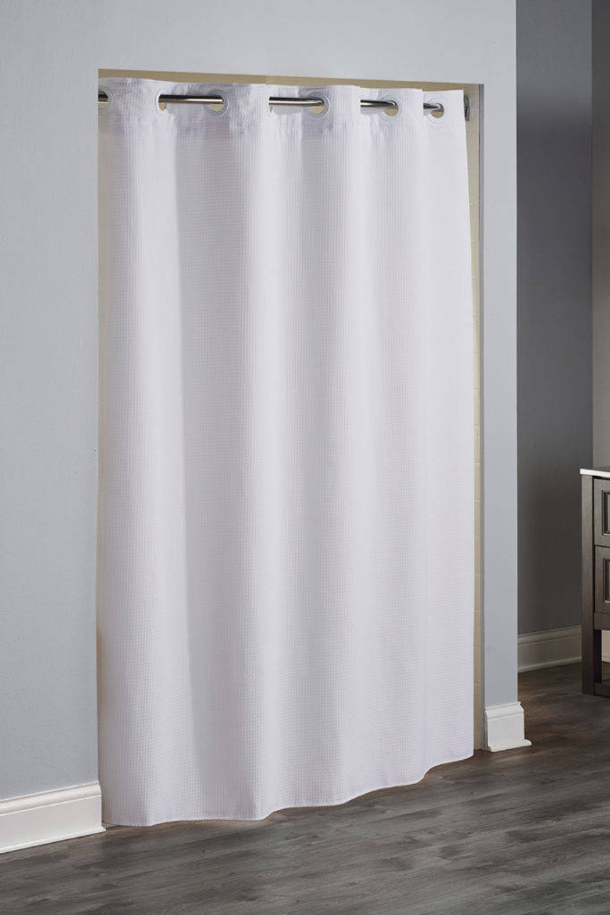 Focus Product Group Reflection or Hookless or Polyester or Shower Curtain or Pack of 12