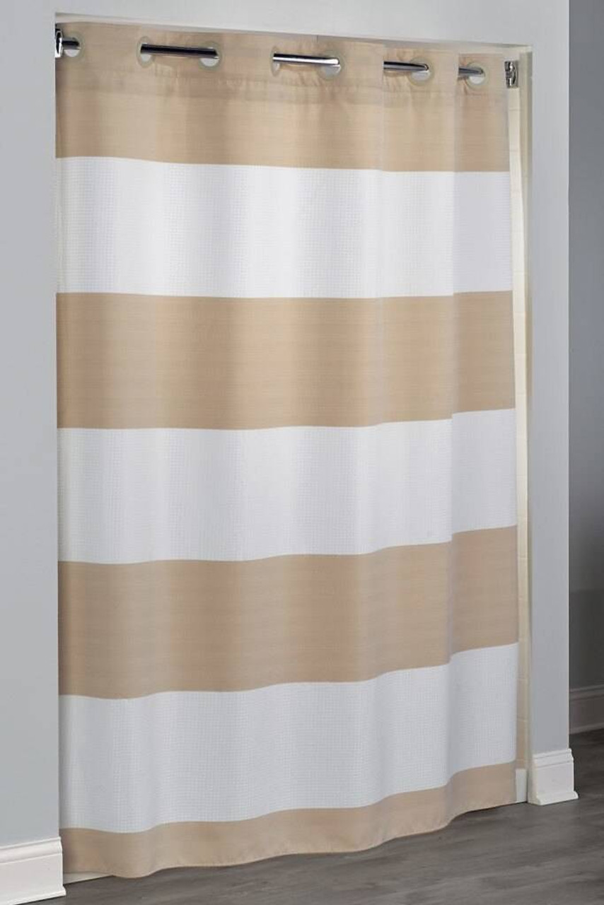 Focus Product Group Sonoma or Hookless Fabric Shower Curtain or Pack of 12