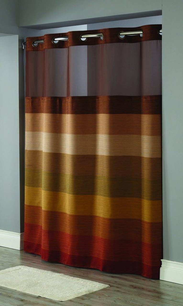 Focus Product Group Stratus Window Hookless shower curtain or Pack of 12