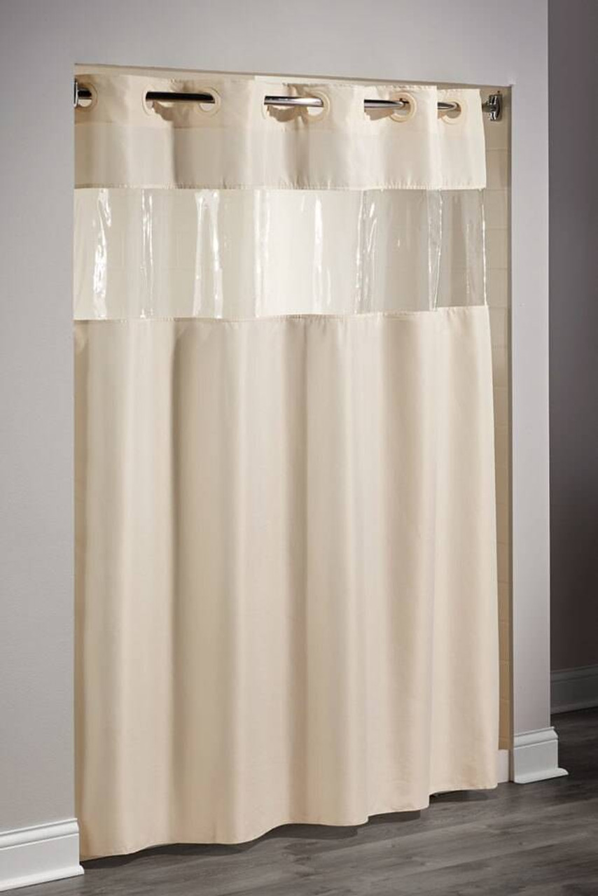 Focus Product Group The Top or Hookless or Polyester or Shower Curtain or Pack of 12
