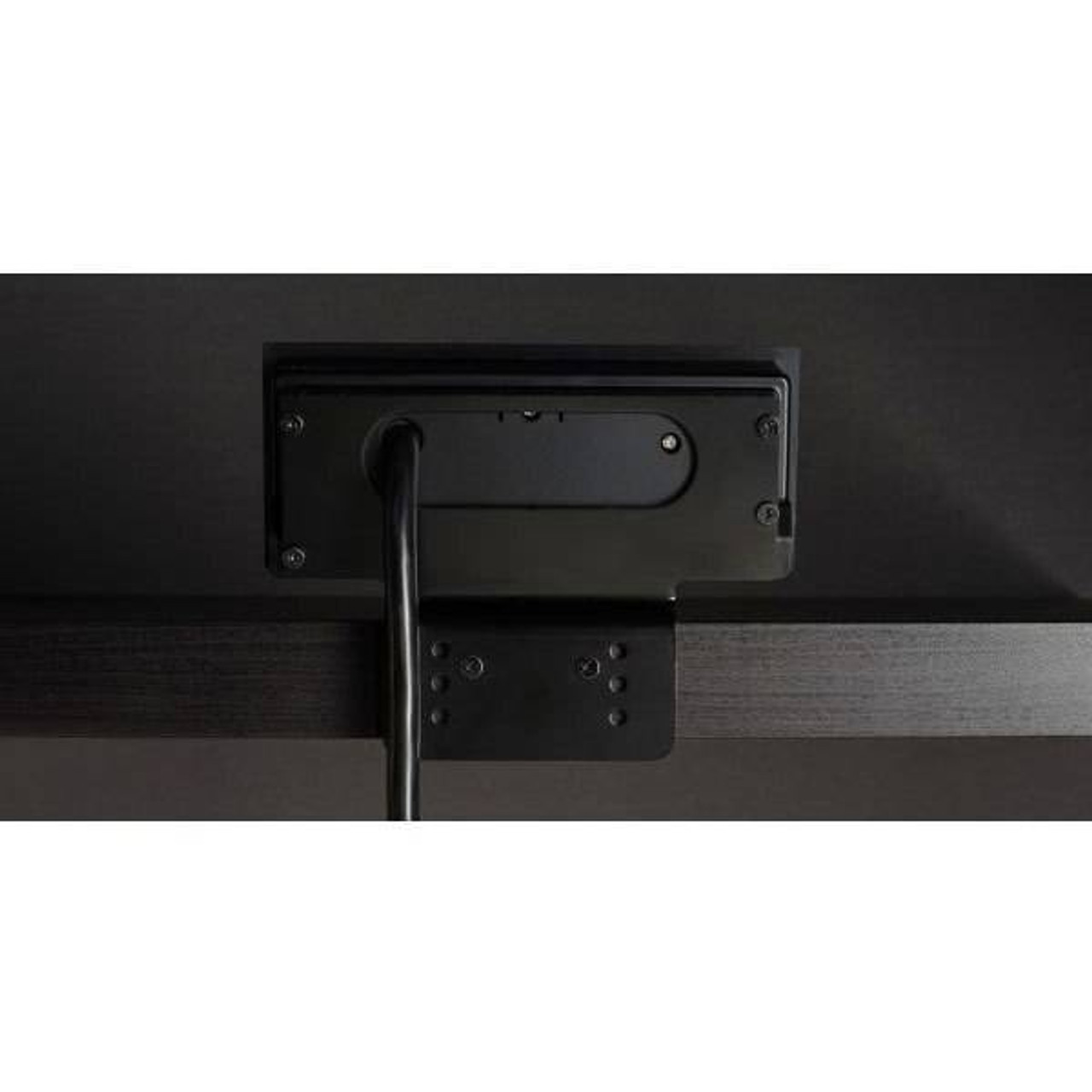 Brandstand BRANDSTAND CUBIEDASH UPRIGHT POWER and CHARGING SOLUTION W/ 2 USB PORTS and 3 POWER OUTLETS BLACK
