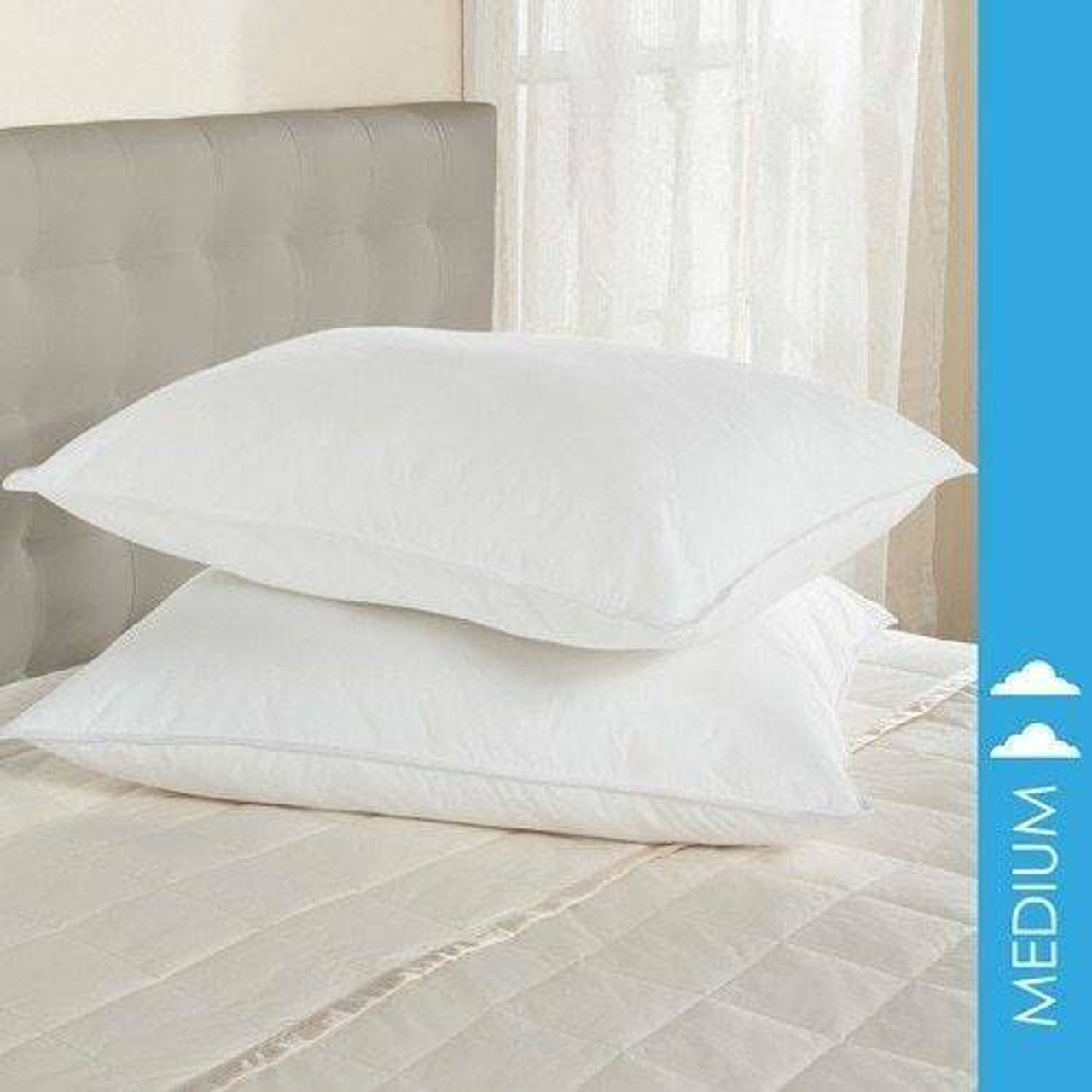 DownLite Bedding DOWNLITE Hotel and Resort 50-50 Down and Feather Blend Pillow
