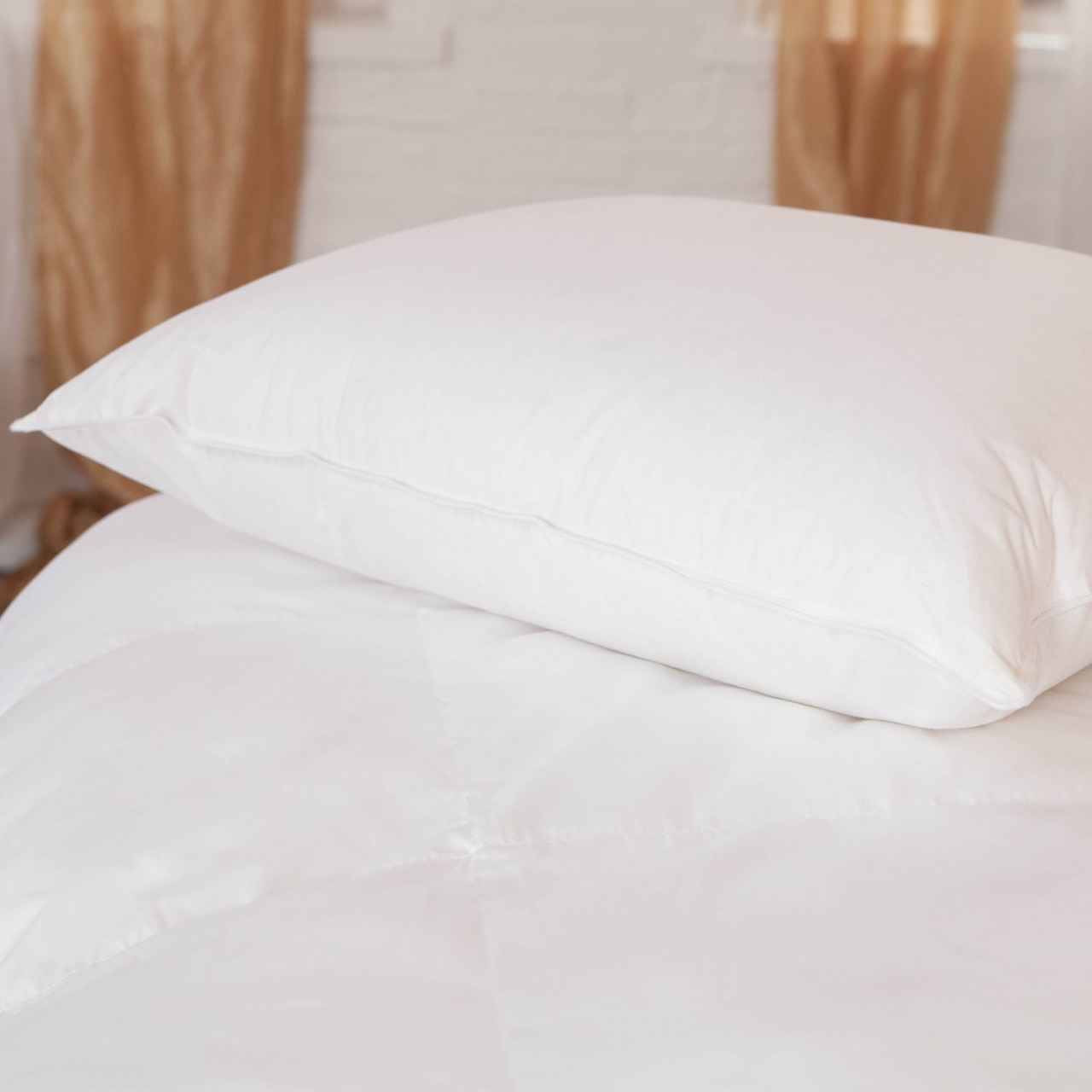 DownLite Bedding Downlite Pillow or MicroLoft Gel Fiber