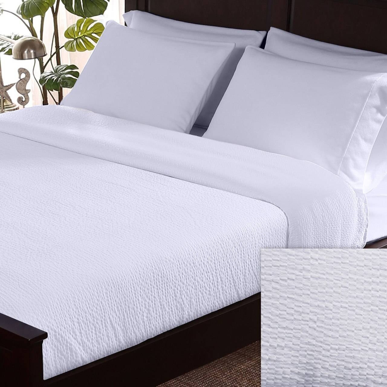 Berkshire Blankets BERKSHIRE or CLASSIC SEERSUCKER or 185 GSM or TOP SHEET