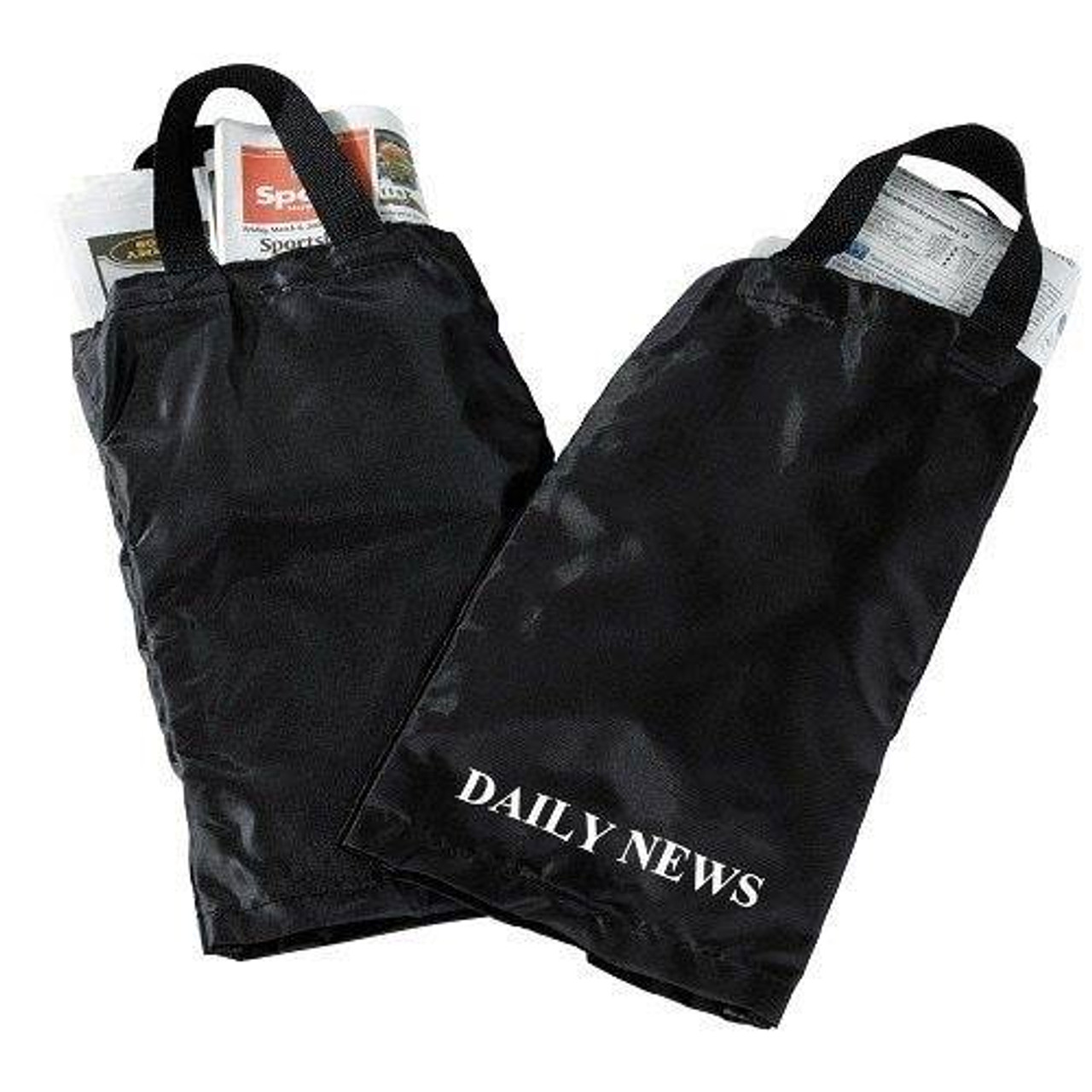 HOSPITALITY 1 SOURCE AMENITY BAGS or HOSPITALITY 1 SOURCE or NEWSPAPER BAG or BLACK/WHITE or Daily News