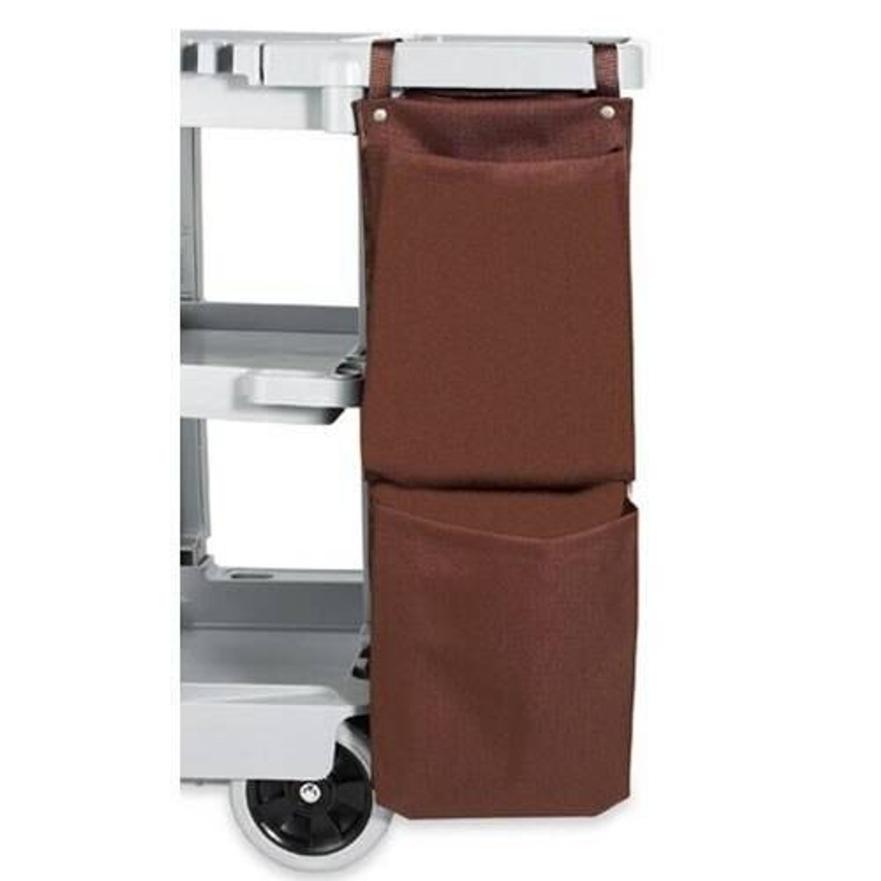 HOSPITALITY 1 SOURCE HOSPITALITY 1 SOURCE or 2 POCKET or X DUTY HOUSEKEEPING or CADDY BAGS or 12X35 or BROWN or 5 PER CASE