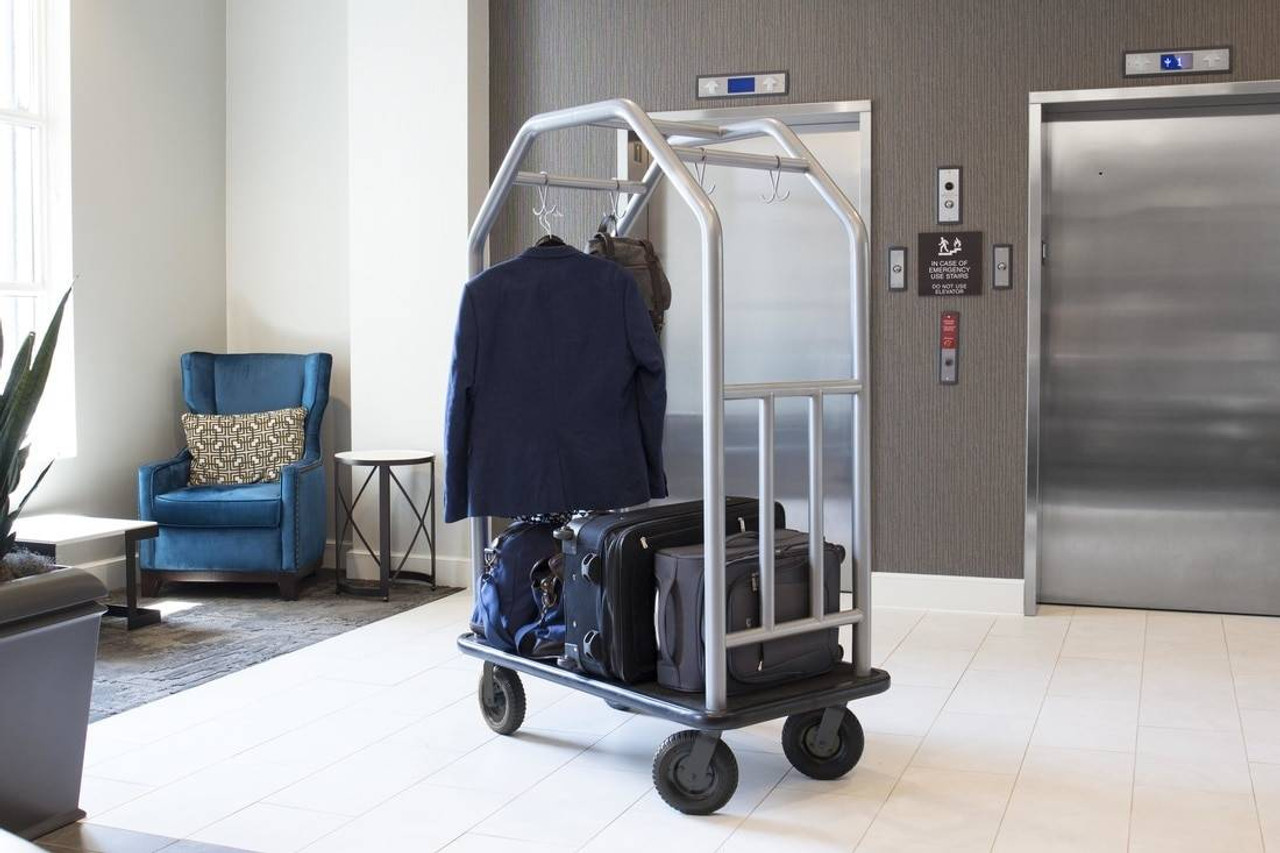 HOSPITALITY 1 SOURCE BELLMANS CART or COASTAL SERIES - ALL STYLES