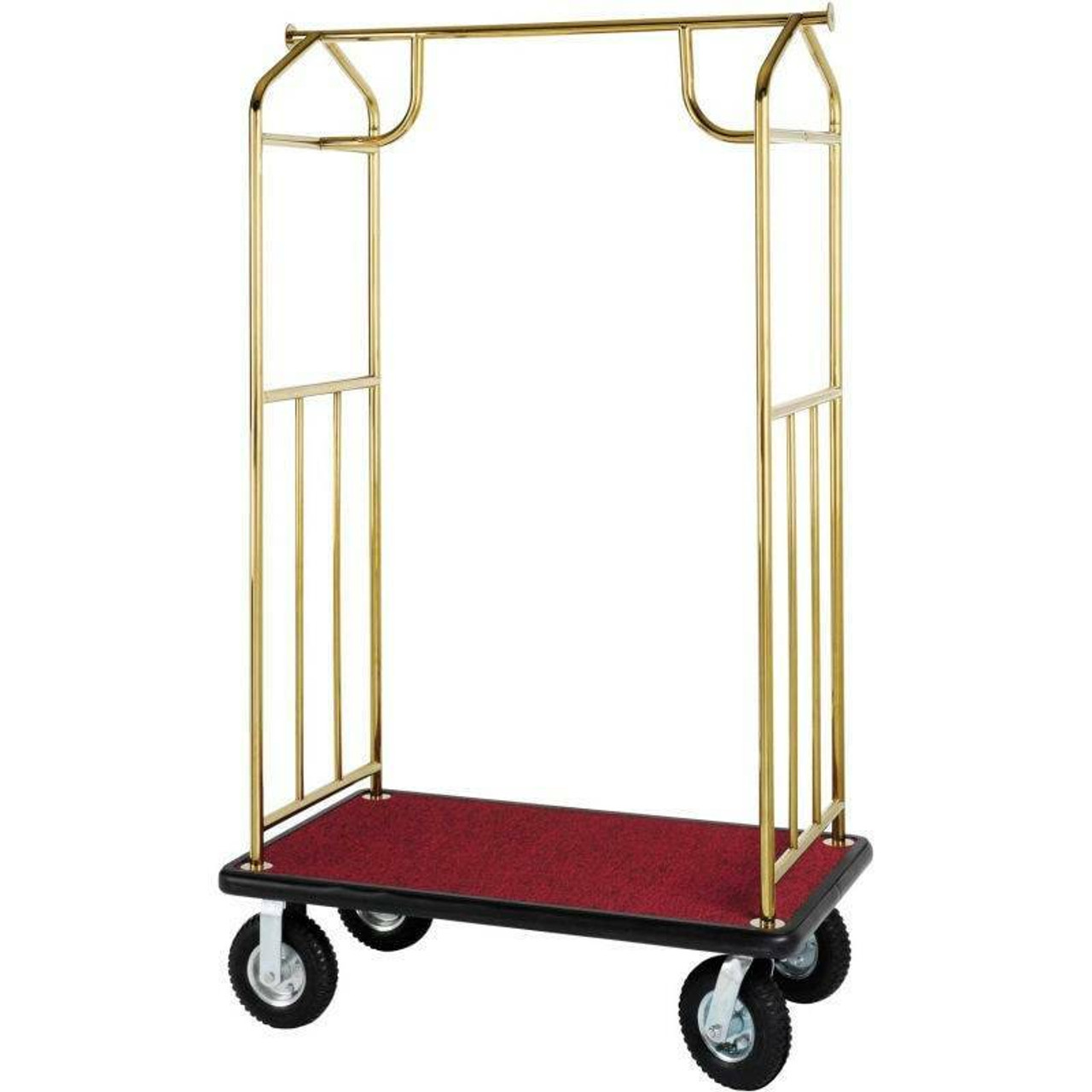 Brass HOSPITALITY 1 SOURCE BELLMANS CART or TRANSPORTER - ALL STYLES