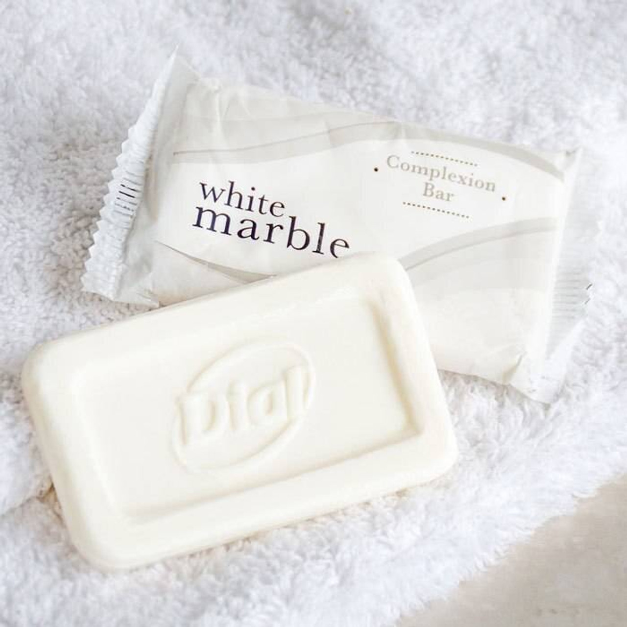WHITE MARBLE or DIAL BASICS or COMPLEXION BAR SOAP