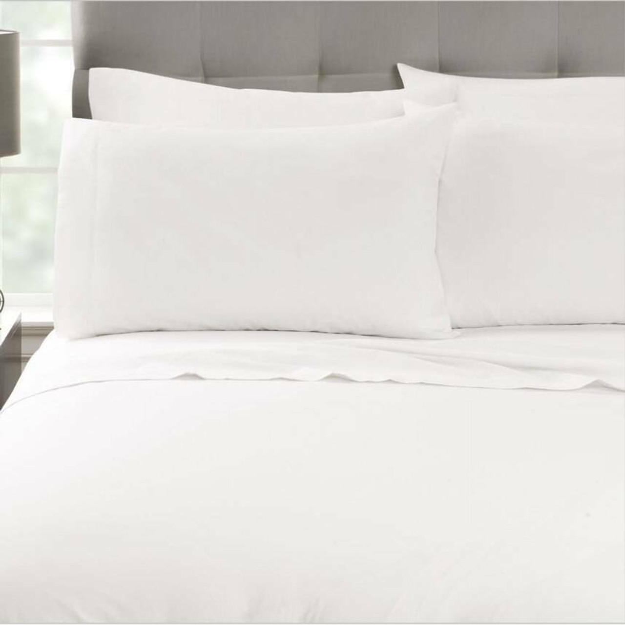 Martex Millennium or Sheets or WestPoint Hospitality Martex Millennium Duvet Cover, Shams and Bedskirts or Solid and Stripe