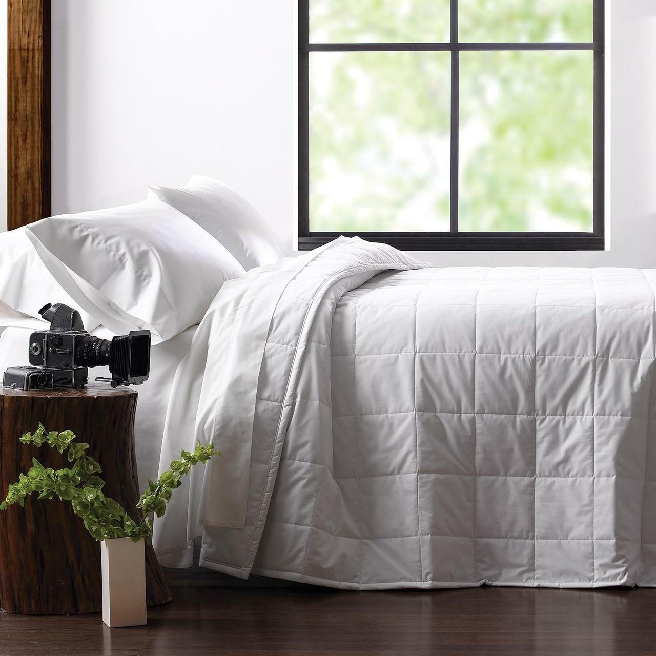 WestPoint/Martex Martex Green Filled Blanket