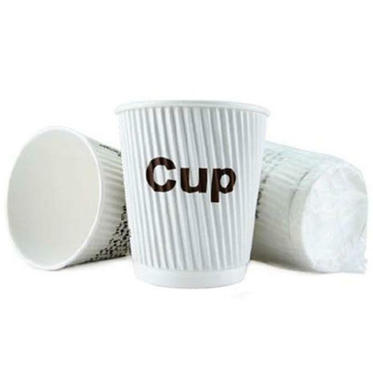 Oxford Super Blend by Ganesh Mills OXFORD GANESH 9 OZ INDIVIDUALLY WRAPPED RIPPLED INSULATED COFFEE CUPS 900 PER CASE