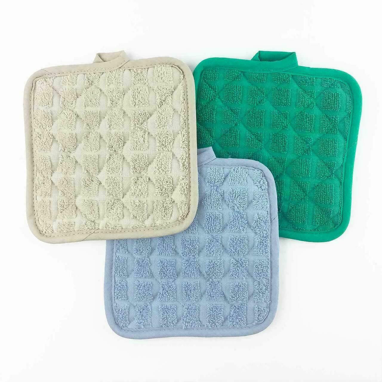 Martex Wovens by WestPoint Hospitality MARTEX or POT HOLDER or 7x7 or 100percent RING SPUN COTTON LOOPS or 24 DZ PER CASE