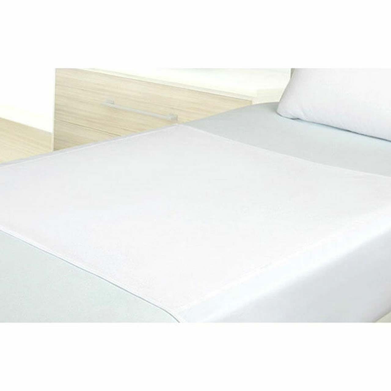 Bargoose BARGOOSE or LAMINATED TRICOT or DRAW SHEET or W/ POLY/COTTON TUCK-IN TAILS or 36X72 or 12 PER CASE
