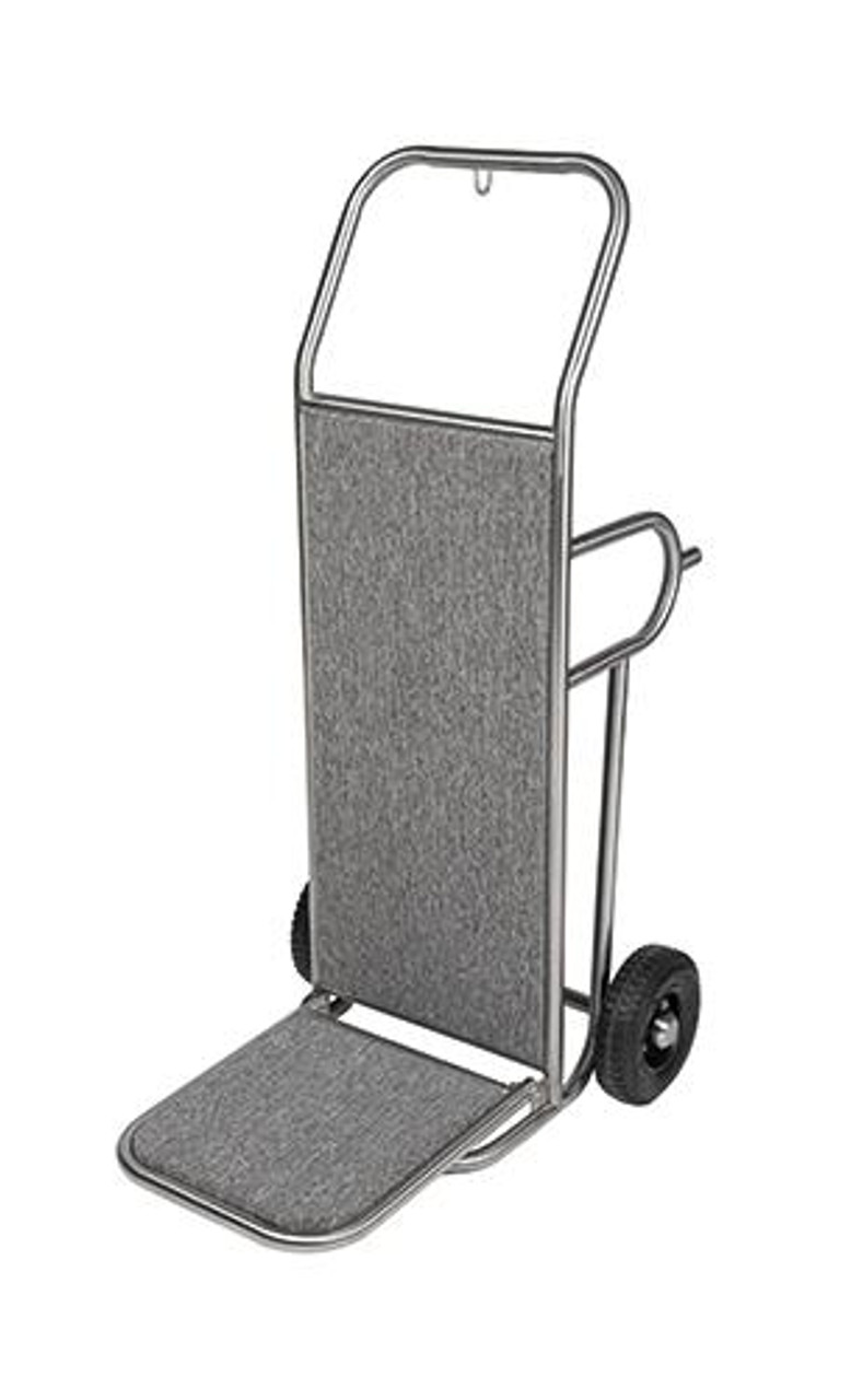 Deluxe Bellmans Hand Truck or Gold and Stainless