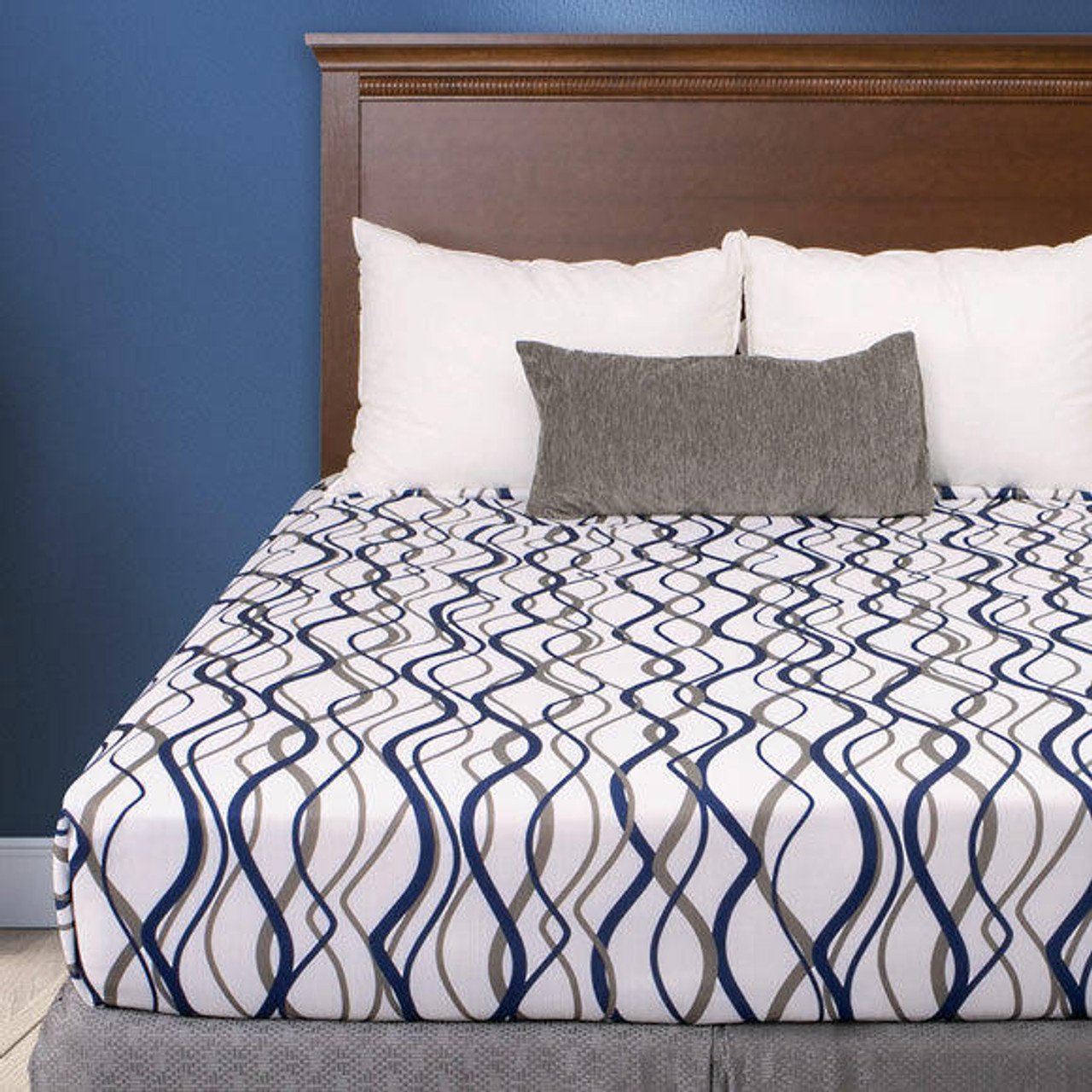 KTX Wavy Stripes Top Sheet by Helix - All Colors and Sizes