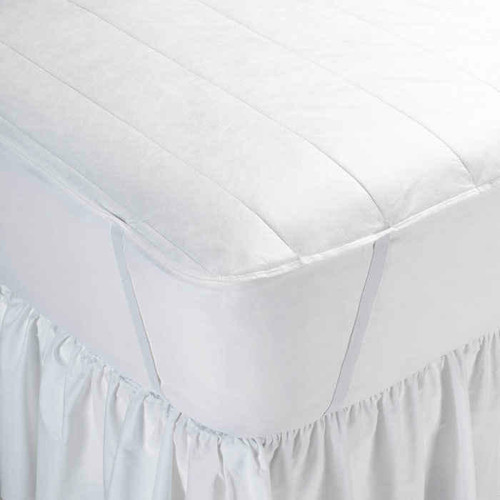 Martex Wovens by WestPoint Hospitality Westpoint or Martex Basics or Essential Non-Woven Mattress Pad W/ Anchor Bands or Pack Of 6