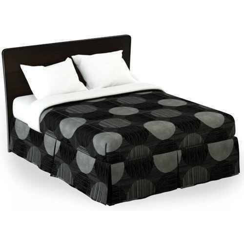WestPoint/Martex Westpoint or Martex Rx or Bed Skirt or Circles and Stripes Black/Gray or Pack Of 12