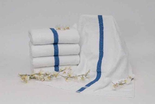 Dependability by 1888 Mills Dependability by 1888 Mills Towels wholesale or Blue Center Stripe or 96 Per Pack