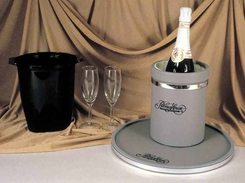 2 Qt Wine/Champagne Bucket Assorted Vinyl Colors or 12 Per Case