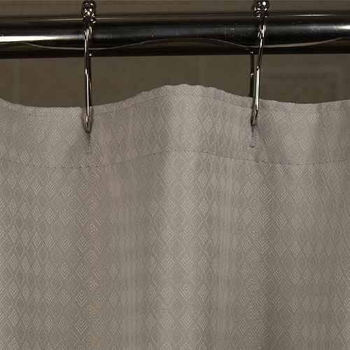 Kartri KARTRIor SOPHIAor FLAME RETARDANT POLY/AVORA BLEND SHOWER CURTAIN W/ SEWN EYELETS PACK OF 8