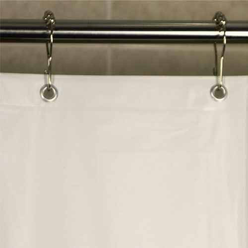 Kartri KARTRIor 5 GAUGE VINSOFTor VINYL SHOWER CURTAIN W/ METAL GROMMETS PACK OF 24