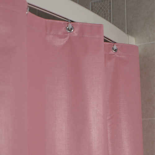 Kartri KARTRIor SURE CHEK FLAME RETARDANTor LAMINATED SHOWER CURTAIN W/ METAL GROMMETS PACK OF 12