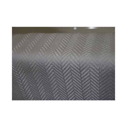 Kartri KARTRIor CHEVRON EZY-HANGor POLYESTER SHOWER CURTAIN W/ VOILE WINDOW and SNAP AWAY LINER 72x74 PACK OF 12