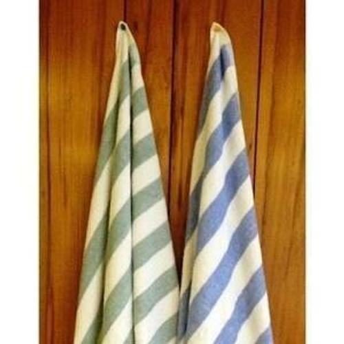 THOMASTON MILLS THOMASTON MILLS or 30x70 ISLAND STRIPE POOL TOWELS