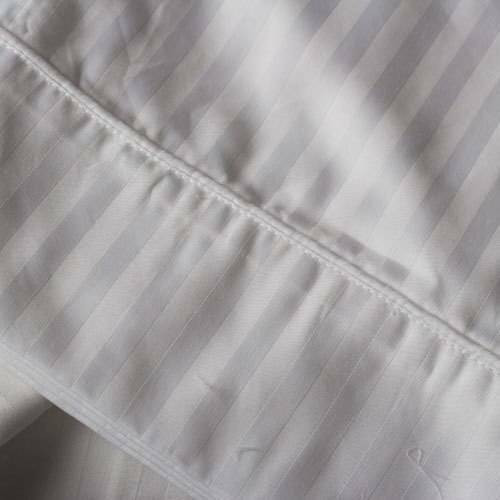 Ganesh Mills or Oxford Super Blend Ganesh Mills or T-250 Tone on Tone Stripe Duvet Covers Twinor Pack of 12