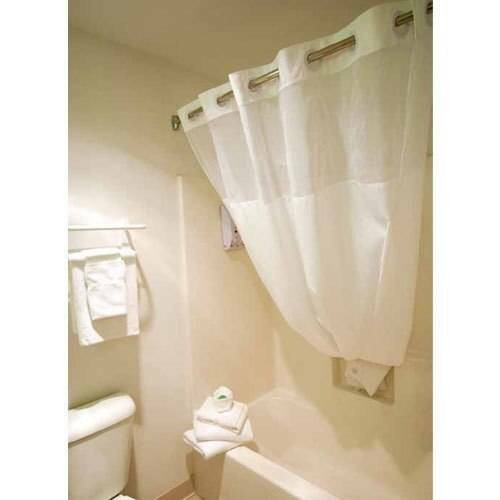 Ganesh Mills or Oxford Super Blend Ganesh Mills or Hookless Shower Curtains or 71x74 or Pack of 12