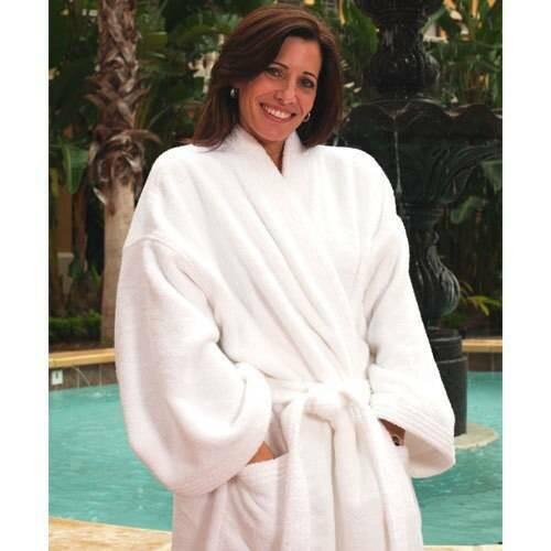 Ganesh Mills or Oxford Super Blend Ganesh Mills or Kimono Zero Twist Combed Cotton Bathrobe or Pack of 6