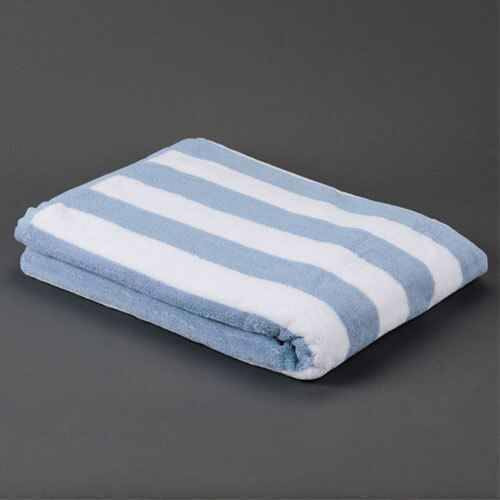 Ganesh Mills or Oxford Super Blend Ganesh Mills or Oxford Cabana 2X2 Stripe Pool Towels or Pack of 1 DZ