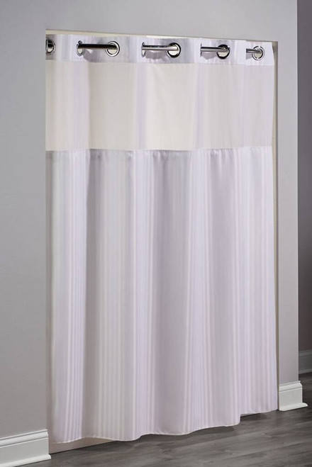 Focus Product Group Hookless Shower Curtain or Double H or Polyester